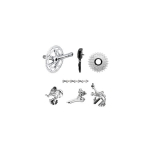 Campagnolo Athena Alloy, 8pc Group