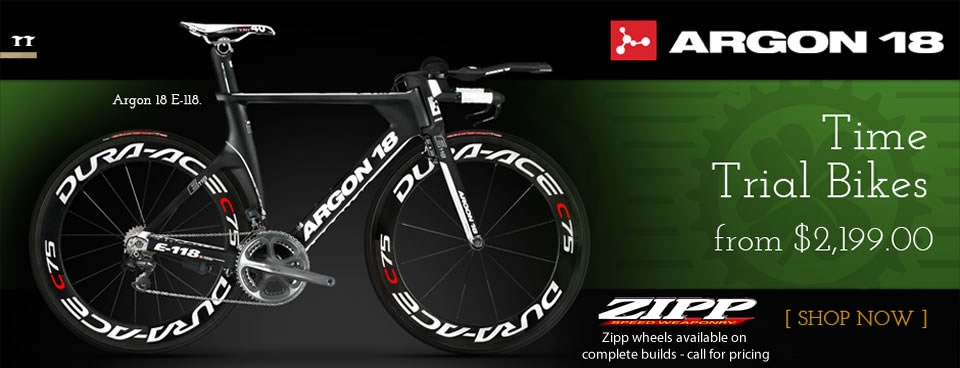 Argon 18 Time Trial Bikes